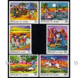 Gwinea 1968 Mi 480-85 ** Bajki i Legendy Zwierzęta Pozostałe