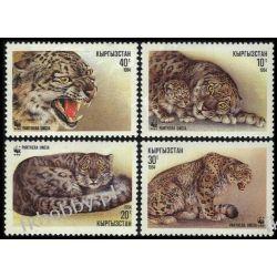 Kirgistan 1994 Mi 22-25 ** WWF Leopard Pozostałe