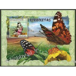 Mozambik 2007 Mi BL 213 ** Motyl Motyle Owady