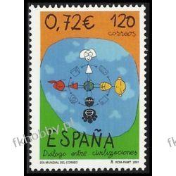 Hiszpania 2001 Mi 3654 ** Dialog Wspólne Wydanie Pozostałe