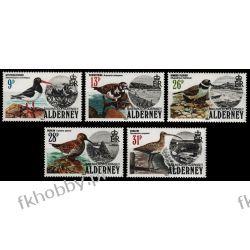 WB Alderney 1984 Mi 13-17 ** Ptaki Ptak Ptaki