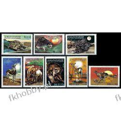 Libia 1979 Mi 704-11 ** Zwierzęta Koty Dzikie Pozostałe