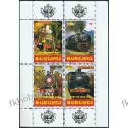 Burundi 1999 ** BL Kolej Lokomotywy Kolejnictwo