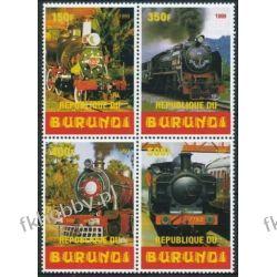 Burundi 1999 ** Kolej Lokomotywy Kolejnictwo