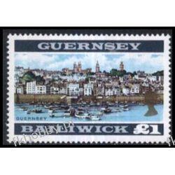 WB Guernsey 1969 Mi 23 B ** Statki Marynistyka Sport