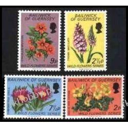 WB Guernsey 1972 Mi 67-70 ** Kwiaty Flora