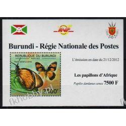 Burundi 2012 Mi 2766A Deluxe ** Motyle Motyl Owady