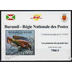 Burundi 2012 Mi 2782A Deluxe ** Ryba Ryby Owady