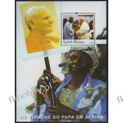 Gwinea Bissau 2003 BL 444 ** Jan Paweł II Afryka Sport