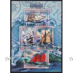 Burundi 2012 Mi ark 2481-84 ** Zaglowce Statki Marynistyka