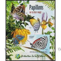 Burundi 2012 Mi BL 232 B ** Motyle Motyl Kwiaty Owady