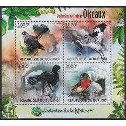 Burundi 2012 Mi ark 2565-68 ** Ptaki Ptak Pozostałe