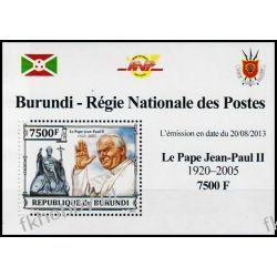 Burundi 2013 Mi 3237 Deluxe ** Jan Paweł II Papież Sport
