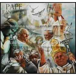 Burundi 2012 Mi ark 2690-93 B ** Jan Paweł II Papież Sport