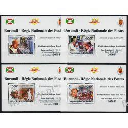 Burundi 2011 Mi 2146-49 Deluxe ** Jan Paweł II