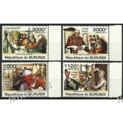 Burundi 2011 Mi 2186-89 ** Benedykt XVI Papież