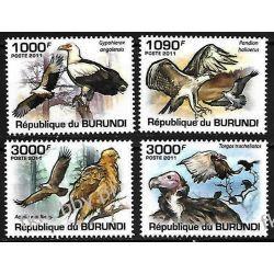 Burundi 2011 Mi 2014-17 ** Ptaki Sokół Ptaki