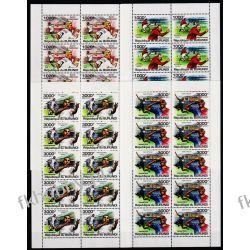 Burundi 2011 Mi ark 2138-41 ** Piłka Nożna Sport Sport