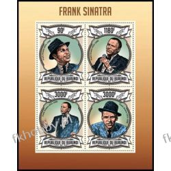 Burundi 2013 ark 2983-86 ** Frank Sinatra Muzyka Kolekcje