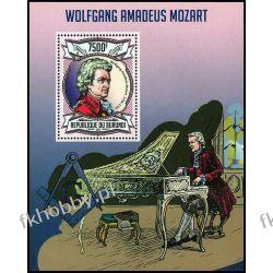 Burundi 2013 BL 327 ** Mozart Kompozytor Muzyka Kolekcje