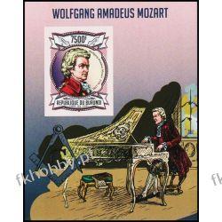 Burundi 2013 BL 327 B ** Mozart Kompozytor Muzyka Kolekcje