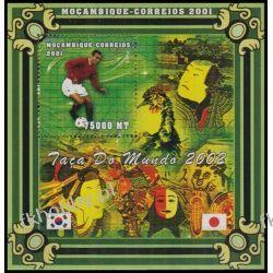 Mozambik 2001 Mi BL 70 ** Piłka Nożna Japonia Cafo Sport