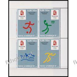 Mozambik 2008 BL 232 ** Olimpiada Pekin Sport Sport