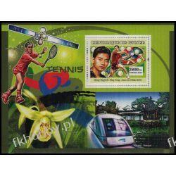 Gwinea 2007 BL 1163 ** Sport Tenis Lokomotywa Sport