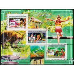 Gwinea 2007 ark 4563-65 ** Sport Rower Ryś Sport