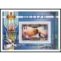 Belize 1983 Mi BL 62 ** Jan Paweł II Papież