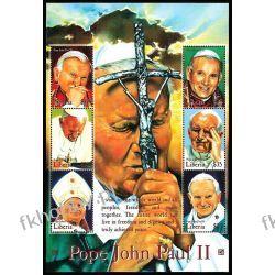 Liberia 2000 Ark 3074-79 ** Jan Paweł II Papież