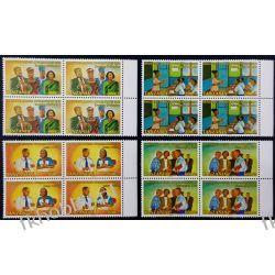 Tanzania 2001 Mi 4036-39 x4 ** Dialog Wspólne Wydanie