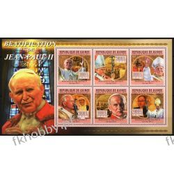 Gwinea 2011 Mi ark 8381-86 ** Jan Paweł II Papież Kolekcje