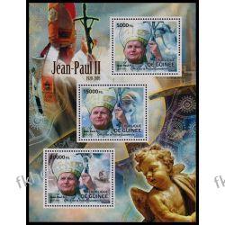 Gwinea 2012 Mi ark 9268-70 ** Jan Paweł II Papież Kolekcje