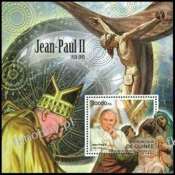 Gwinea 2012 Mi BL 2106 ** Jan Paweł II Papież Pozostałe