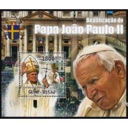 Gwinea Bissau 2011 Mi BL 923 ** Jan Paweł II Papież
