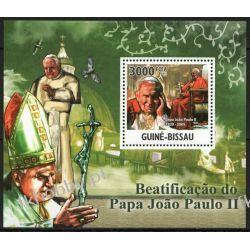 Gwinea Bissau 2011 Mi BL 924 ** Jan Paweł II Papież Kolekcje