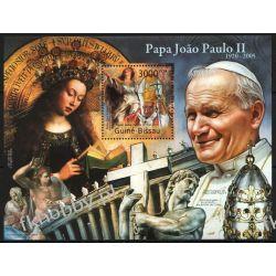 Gwinea Bissau 2011 Mi BL 997 ** Jan Paweł II Papież Kolekcje