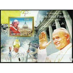 Gwinea Bissau 2010 Mi BL 789 ** Jan Paweł II Papież Kolekcje