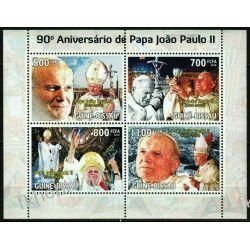 Gwinea Bissau 2010 Mi ark 4720-23 ** Jan Paweł II Papież Kolekcje