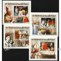 Gwinea Bissau 2010 Mi 4720-23B Deluxe ** Jan Paweł II Papież Kolekcje