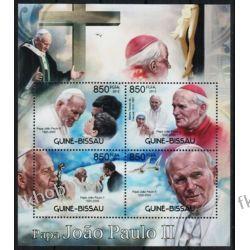Gwinea Bissau 2012 Mi ark 6145-48 ** Jan Paweł II Papież Kolekcje