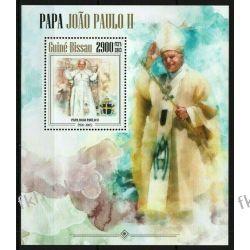 Gwinea Bissau 2013 Mi BL 1190 ** Jan Paweł II Papież Pozostałe