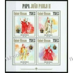 Gwinea Bissau 2013 Mi ark 6783-86 ** Jan Paweł II Papież Kolekcje