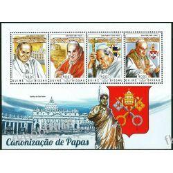 Gwinea Bissau 2014 Mi ark 7456-59 ** Jan Paweł II Papież Kolekcje