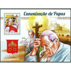 Gwinea Bissau 2014 Mi BL 1303 ** Jan Paweł II Papież Kolekcje