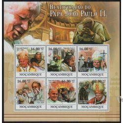 Mozambik 2011 Mi ark 4633-38 ** Jan Paweł II Papież