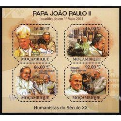 Mozambik 2011 Mi ark 4697-00 ** Jan Paweł II Papież