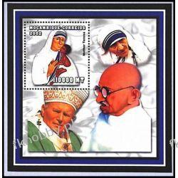 Mozambik 2002 Mi BL 167 ** Jan Paweł II Matka Teresa Kolekcje