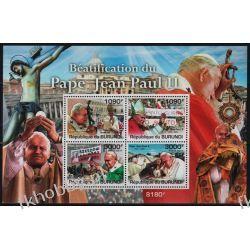 Burundi 2011 Mi BL 173 ** Jan Paweł II Papież Kolekcje